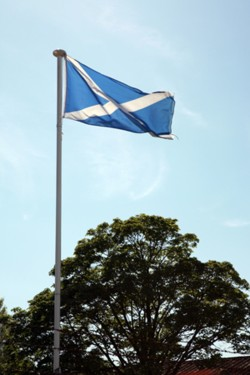 The Saltire, Scotland's flag